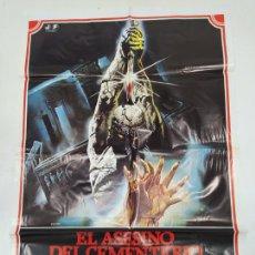 Cine: CARTEL DE LA PELICULA. EL ASESINO DEL CEMENTERIO ETRUSCO. ELVIRE AUDRAY. P. MALCO. TDKP22G. Lote 236832190