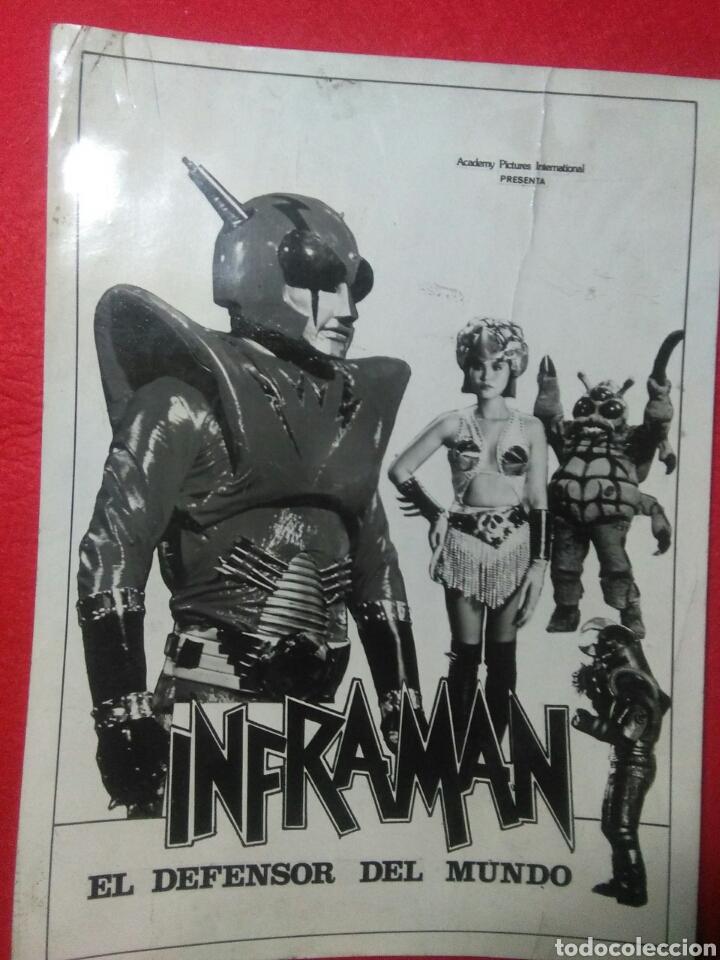 Cine: Cartelito de cine (Inframan)cincia ficion robots,japon - Foto 2 - 236864120