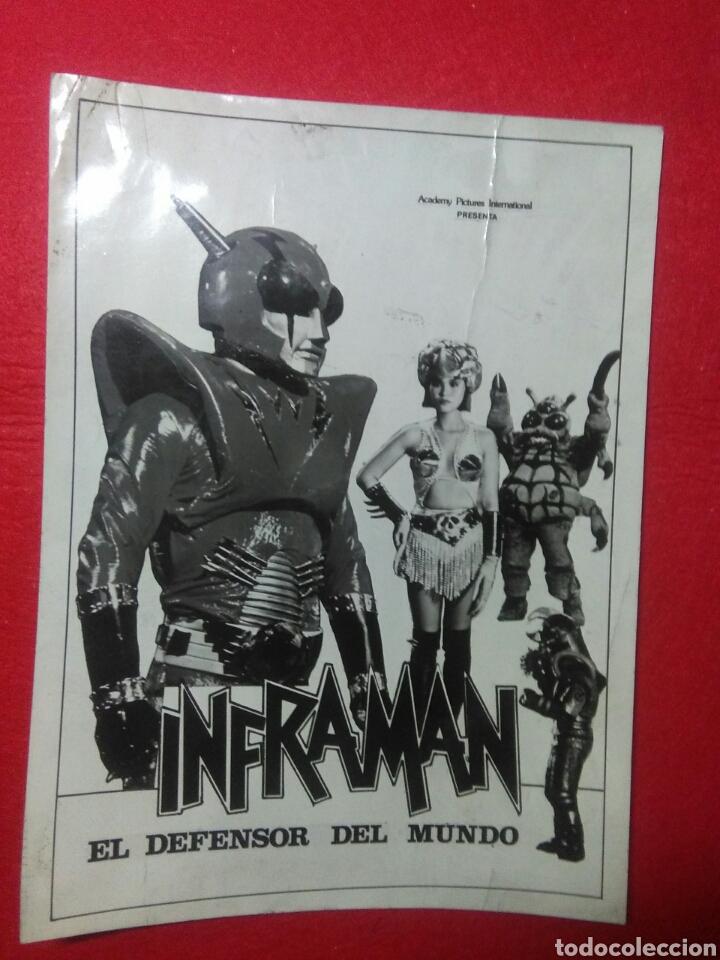 Cine: Cartelito de cine (Inframan)cincia ficion robots,japon - Foto 5 - 236864120