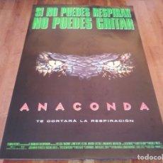 Cine: ANACONDA - JENNIFER LOPEZ, JON VOIGHT, ERIC STOLTZ, ICE CUBE - POSTER ORIGINAL COLUMBIA 1997. Lote 236941810