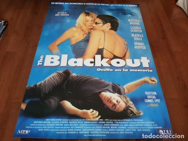 THE BLACKOUT OCULTO EN LA MEMORIA - MATTHEW MODINE,BÉATRICE DALLE - POSTER ORIGINAL TRIPICTURES 1997 (Cine - Posters y Carteles - Suspense)