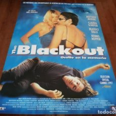 Cine: THE BLACKOUT OCULTO EN LA MEMORIA - MATTHEW MODINE,BÉATRICE DALLE - POSTER ORIGINAL TRIPICTURES 1997. Lote 236942220