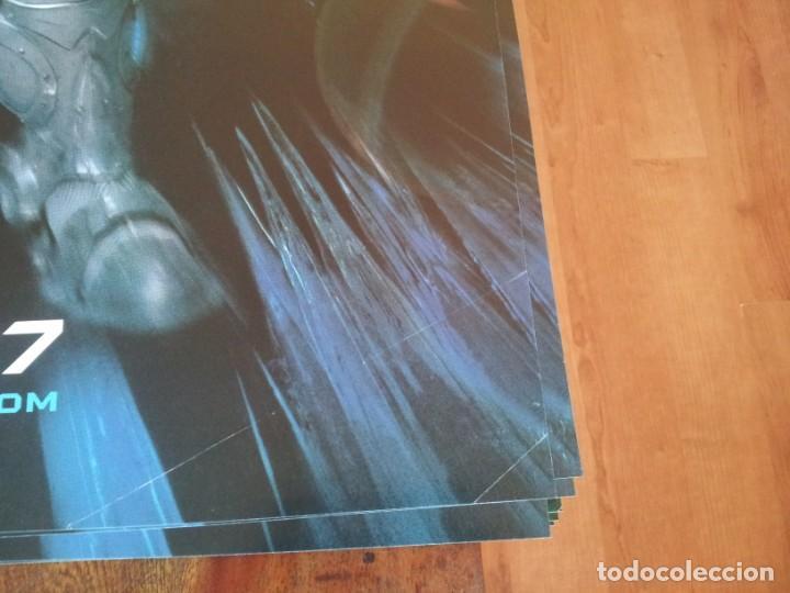Cine: Batman y Robin - villanos - poster original warner 1997 previo - Foto 2 - 236960220