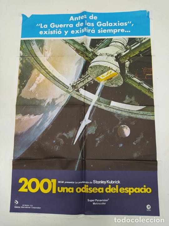 CARTEL ORIGINAL DE LA PELICULA 2001 UNA ODISEA DEL ESPACIO. KEIR DULLEA. STANLEY KUBRICK. TDKP22F (Cine - Posters y Carteles - Ciencia Ficción)