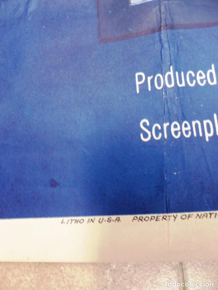 Cine: The Missouri Traveler - BRANDON DE WILDE, LEE MARVIN, CARTEL AMERICANO GRANDE 198X104 CM. - AÑO 1958 - Foto 4 - 237141090