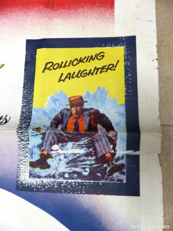 Cine: The Missouri Traveler - BRANDON DE WILDE, LEE MARVIN, CARTEL AMERICANO GRANDE 198X104 CM. - AÑO 1958 - Foto 12 - 237141090