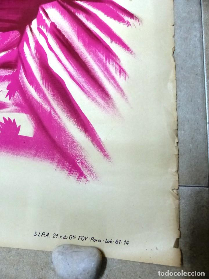 Cine: AU REVOIR FRANZISKA - RUTH LEUWERIK, CARTEL LITOGRAFIA FRANCES GRANDE 160X120 CM. - AÑOS 1950 - Foto 3 - 237143295