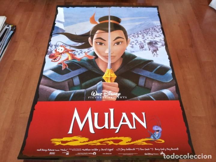 MULAN - ANIMACION - POSTER ORIGINAL DISNEY 1998 (Cine - Posters y Carteles - Infantil)