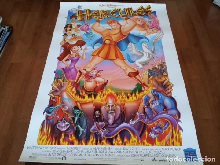 HÉRCULES - ANIMACION - POSTER ORIGINAL DISNEY AÑO 1997 (Cine - Posters y Carteles - Infantil)