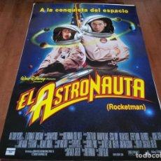 Cine: EL ASTRONAUTA - HARLAND WILLIAMS, JESSICA LUNDY, WILLIAM SADLER - POSTER ORIGINAL DISNEY 1997. Lote 237156325