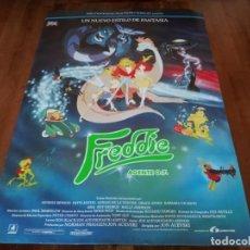 Cine: FREDDIE AGENTE O.7 - ANIMACION - POSTER ORIGINAL LAUREN 1992. Lote 237164410