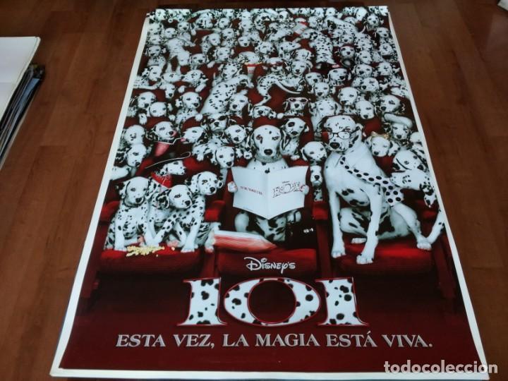 101 DÁLMATAS ¡MÁS VIVOS QUE NUNCA! - GLENN CLOSE, JEFF DANIELS - POSTER ORIGINAL DISNEY 1996 PREVIO (Cine - Posters y Carteles - Infantil)