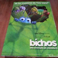 Cinema: BICHOS UNA AVENTURA EN MINIATURA - ANIMACION - PIXAR - POSTER ORIGINAL DISNEY 1998. Lote 237174155