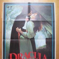 Cine: CARTEL CINE, DRACULA CHUPA..., JAMIE GILLIS, JANO, CLASIFICADA S, 1980, C675. Lote 237281760