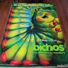 Cine: BICHOS UNA AVENTURA EN MINIATURA - ANIMACION - PIXAR - POSTER ORIGINAL DISNEY 1998 MOD 3. Lote 237353160