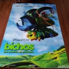 Cine: BICHOS UNA AVENTURA EN MINIATURA - ANIMACION - PIXAR - POSTER ORIGINAL DISNEY 1998 MOD 4. Lote 237353310