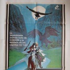 Cine: ANTIGUO CARTEL CINE CHICARA + 12 FOTOCROMOS 1979 CC333 RV. Lote 237364035