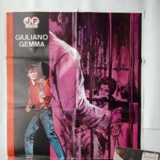 Cine: ANTIGUO CARTEL CINE ADIOS GRINGO + 12 FOTOCROMOS 1980 JANO CC334 RV. Lote 237364695
