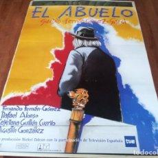 Cine: EL ABUELO - FERNANDO FERNÁN GÓMEZ, RAFAEL ALONSO, CAYETANA GUILLÉN - POSTER ORIGINAL COLUMBIA 1998. Lote 237386750
