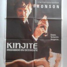 Cine: ANTIGUO CARTEL CINE KINJITE CHAELES BRONSON + 12 FOTOCROMOS 1989 CC342 RV. Lote 237497920