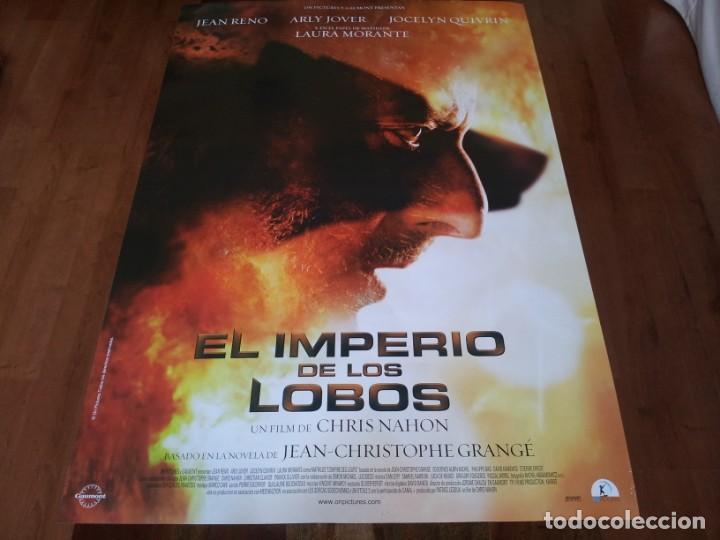 EL IMPERIO DE LOS LOBOS - JEAN RENO, ARLY JOVER, LAURA MORANTE - POSTER ORIGINAL ON PICTURES 2005 (Cine - Posters y Carteles - Suspense)