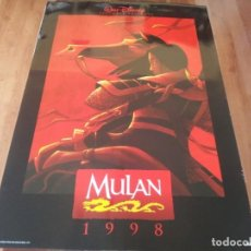 Cine: MULAN - ANIMACION - POSTER ORIGINAL DISNEY 1998 MOD 2. Lote 237552015