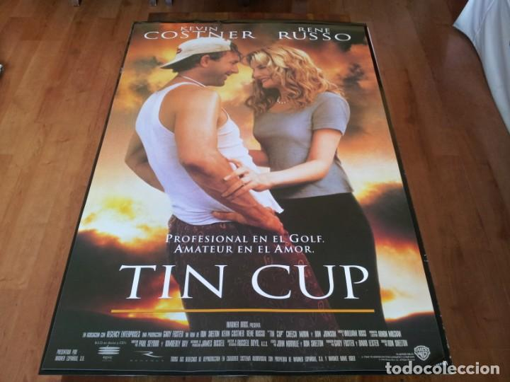 TIN CUP - KEVIN COSTNER, RENÉ RUSSO, CHEECH MARIN, DON JOHNSON - POSTER ORIGINAL WARNER 1996 (Cine - Posters y Carteles - Deportes)