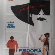 Cine: ANTIGUO CARTEL CINE FEDORA + 12 FOTOCROMOS 1978 CC354 RV. Lote 237558870