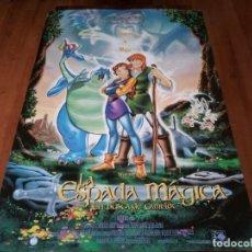 Cine: LA ESPADA MÁGICA, EN BUSCA DE CAMELOT - ANIMACION - POSTER ORIGINAL WARNER 1998. Lote 237560630