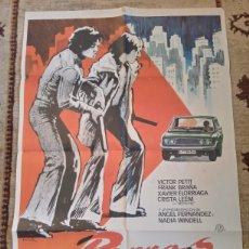 Cinema: CARTEL PERROS CALLEJEROS 1982 JOSE ANTONIO DE LA LOMA. Lote 237685030