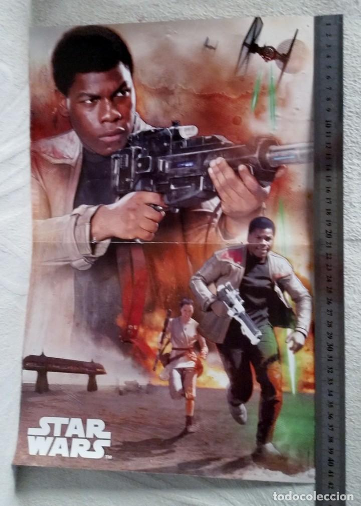 CARTEL PUBLICITARIO PELICULA STAR WARS EL ASCENSO DE SKYWALKER - STAR WARS DIBUJOS (Cine - Posters y Carteles - Acción)