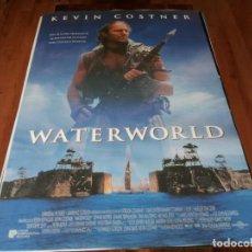 Cine: WATERWORLD - KEVIN COSTNER, JEANNE TRIPPLEHORN, DENNIS HOPPER - POSTER ORIGINAL U.I.P 1995. Lote 257333330