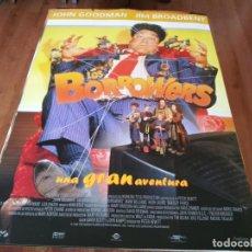 Cine: LOS BORROWERS - JOHN GOODMAN, JIM BROADBENT, MARK WILLIAMS - POSTER ORIGINAL SOGEPAQ 1997. Lote 237743405