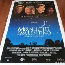 Cine: MUJERES BAJO LA LUNA - ELIZABETH PERKINS, WHOOPI GOLDBERG - POSTER ORIGINAL SOGEPAQ 1995. Lote 237748435