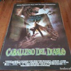 Cine: CABALLERO DEL DIABLO - JOHN KASSIR, BILLY ZANE, WILLIAM SADLER - POSTER ORIGINAL U.I.P 1995. Lote 237752630