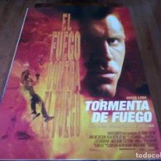 Cine: TORMENTA DE FUEGO - HOWIE LONG, SCOTT GLENN, WILLIAM FORSYTHE, SUZY AMIS - POSTER ORIGINAL FOX 1998. Lote 237917655