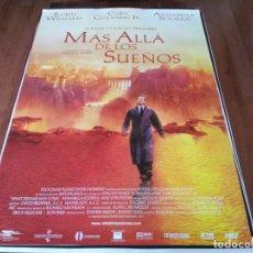 Cine: MÁS ALLÁ DE LOS SUEÑOS - ROBIN WILLIAMS, CUBA GOODING JR. - POSTER ORIGINAL WARNER 1998. Lote 237929880