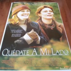 Cine: QUÉDATE A MI LADO - JULIA ROBERTS, SUSAN SARANDON, ED HARRIS - POSTER ORIGINAL COLUMBIA 1998. Lote 237934050