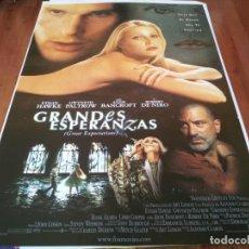 Cine: GRANDES ESPERANZAS - ETHAN HAWKE,GWYNETH PALTROW,ANNE BANCROFT,R. DE NIRO - POSTER ORIGINAL FOX 1998. Lote 237934745