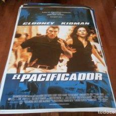 Cine: EL PACIFICADOR - GEORGE CLOONEY, NICOLE KIDMAN, ARMIN MUELLER-STAHL - POSTER ORIGINAL U.I.P 1997. Lote 238104905