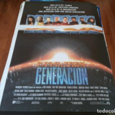 Cine: STAR TREK LA PROXIMA GENERACION - PATRICK STEWART, WILLIAM SHATNER - POSTER ORIGINAL U.I.P 1994. Lote 238105940