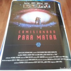 Cine: COMISIONADO PARA MATAR - BILL PAXTON, LINDSAY FROST, JOHN HURT - POSTER ORIGINAL EGM 1993. Lote 238106500
