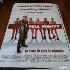 Cine: FULL MONTY - ROBERT CARLYLE, MARK ADDY, TOM WILKINSON - POSTER ORIGINAL FOX AÑO 1997. Lote 238115925