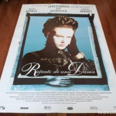 Cine: RETRATO DE UNA DAMA - NICOLE KIDMAN, JOHN MALKOVICH, BARBARA HERSHEY - POSTER ORIGINAL SOGEPAQ 1996. Lote 238120350