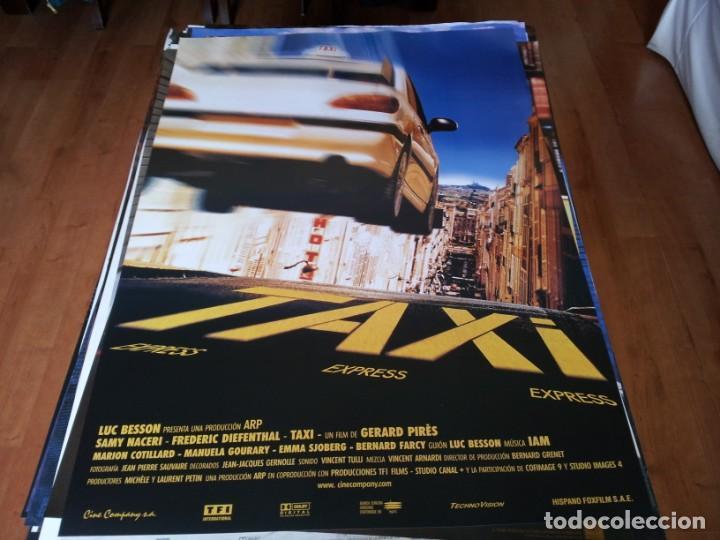 TAXI EXPRESS - SAMY NACERI,FRÉDÉRIC DIEFENTHAL, MARION COTILLARD - POSTER ORIGINAL CINE COMPANY 1998 (Cine - Posters y Carteles - Acción)