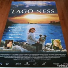 Cine: LAGO NESS - TED DANSON, JOELY RICHARDSON, IAN HOLM - POSTER ORIGINAL SOGEPAQ 1996. Lote 238307520