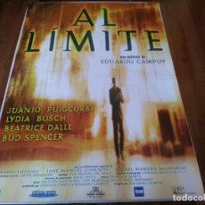 Cine: AL LÍMITE - LYDIA BOSCH, BÉATRICE DALLE, BUD SPENCER, MABEL LOZANO - POSTER ORIGINAL COLUMBIA 1997. Lote 238315960