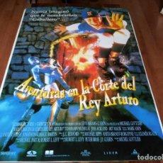 Cine: AVENTURAS EN LA CORTE DEL REY ARTURO - THOMAS IAN NICHOLAS,JOSS ACKLAND - POSTER ORIGINAL AURUM 1995. Lote 238467290