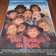 Cine: UNA PANDILLA DE PILLOS - TRAVIS TEDFORD,BUG HALL,BRITTANY ASHTON HOLMES - POSTER ORIGINAL U.I.P 1994. Lote 238483705