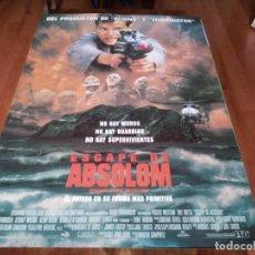 Cine: ESCAPE DE ABSOLOM - RAY LIOTTA, LANCE HENRIKSEN, STUART WILSON - POSTER ORIGINAL COLUMBIA 1994. Lote 238483995